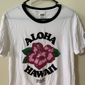 pink hawaii shirt
